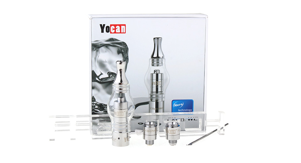 Image of Authentic Yocan EXgo W2 E-Solid / Wax Glass Vaporizer