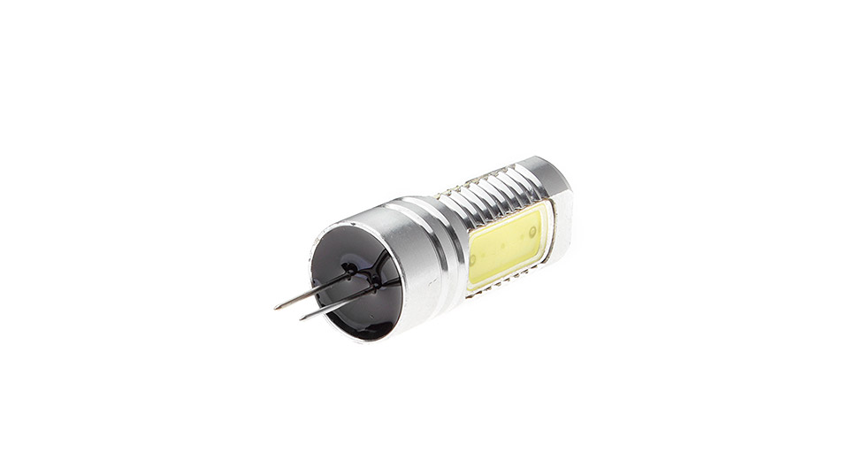 G4 5W 3*COB 450-500LM 6500-7000K Pure White LED Light Bulb, 5W, 3*COB, 450-500LM, 6500-7000K