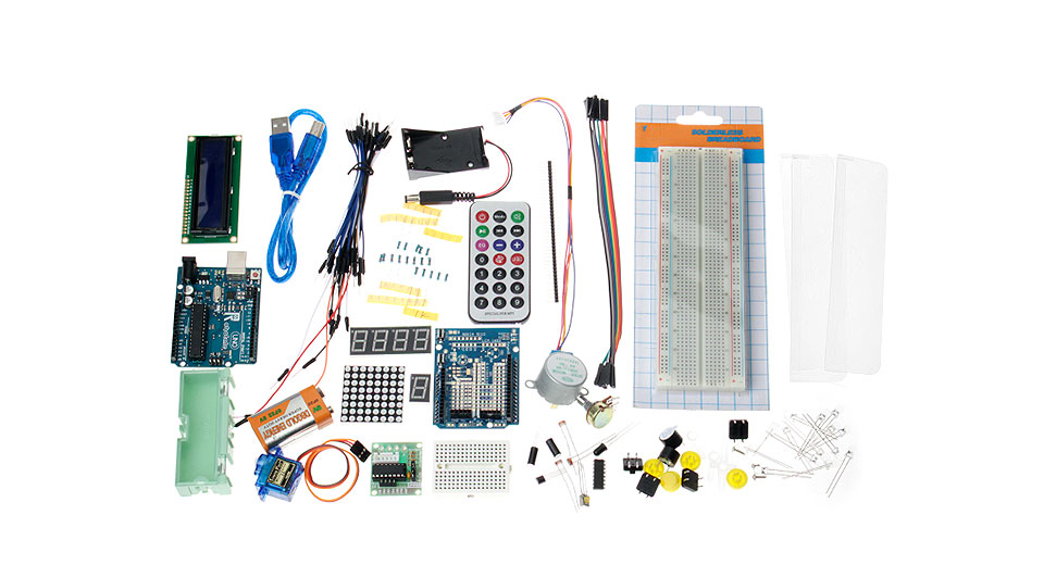 Robotale FR4 Various Board Learning Tool Set for Arduino