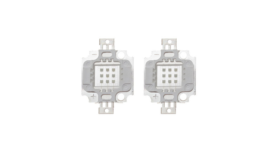 10W 200LM 465-470nm Blue Light LED Emitter (2-Pack) 10W, 200LM, Blue Light, 2-Pack