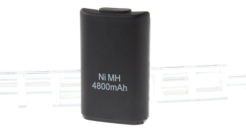 4800mAh Rechargeable Battery w/ USB Charging Cable for Xbox 360 Wireless Controller