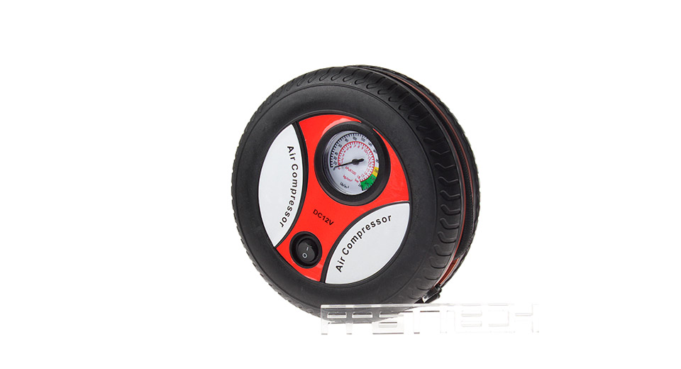 Portable Car / Bicycle / Motor Vehicle Tire Air Compressor (12V)