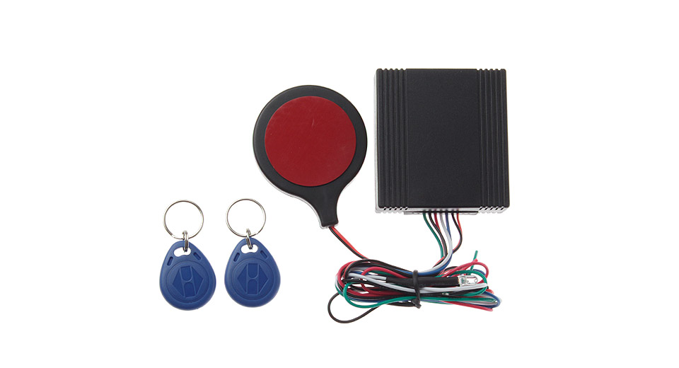 YH-8903 Motorcycle Anti-Thief ID Card Inductive Invisible Lock