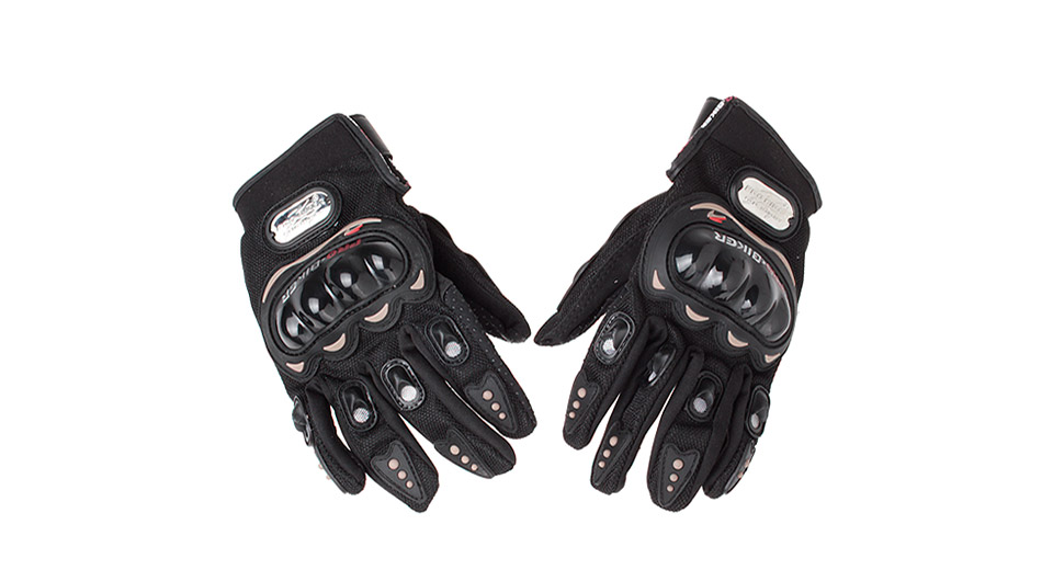 PRO-BIKER MCS-01C Motorcycle Racing Full-Finger Warm Gloves (Pair)