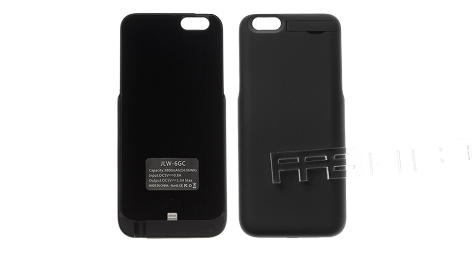 3800mAh Rechargeable External Battery Back Case for iPhone 6