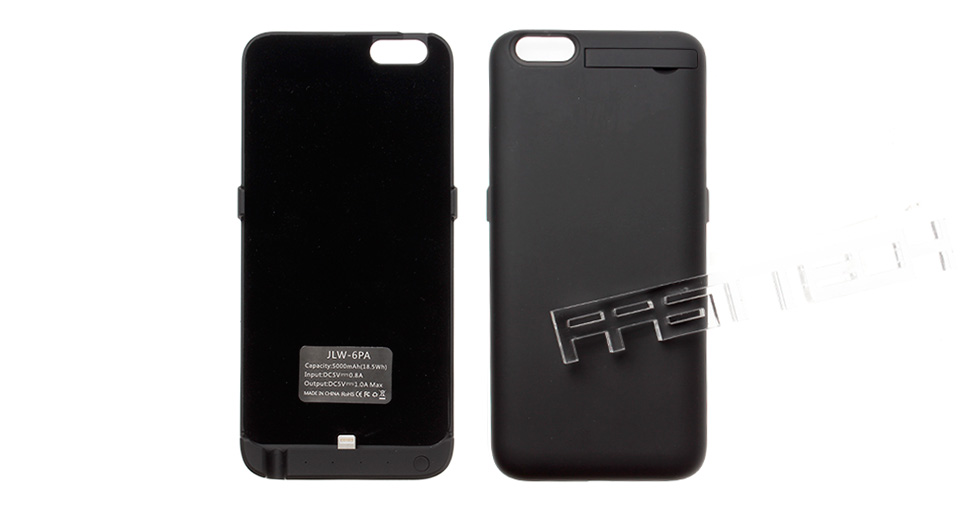 5000mAh Rechargeable External Battery Back Case for iPhone 6 Plus