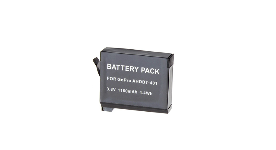 AHDBT-401 1160mAh Li-ion Battery Pack for GoPro HERO4