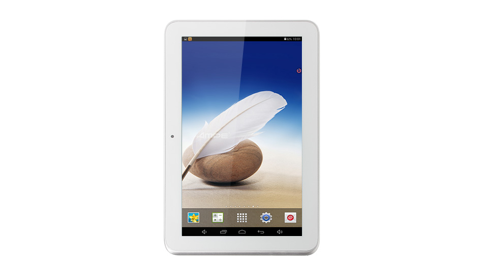 Ampe A92 9 inch TFT Quad-Core 1.2GHz Android 4.4.2 KitKat Tablet PC A92 9'', White, Quad-Core