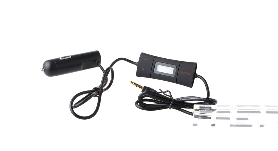 """Image of 0.8"""" Screen 2-CH HiFi Automatic Searching FM Transmitter"""