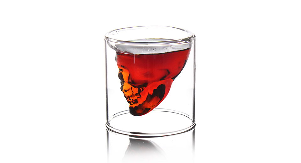 Creative Scary Skull Design Cup Shot Glass