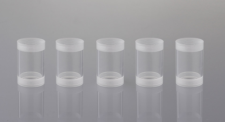 Replacement Tank for Orchid V6 RTA Rebuildable Tank Atomizer (5-Pack)