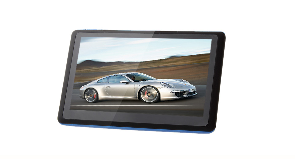 5 Resistive Touch Screen Windows CE 6.0 GPS Navigator w/ United States and Canada Map