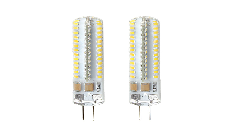 UAU-G9Y4104 G4 4W 104*3014 SMD 260LM 2800-3200K Warm White LED Light Bulb (2-Pack), 4W, 104*3014, 260LM, 2800-3200K, 2-Pack