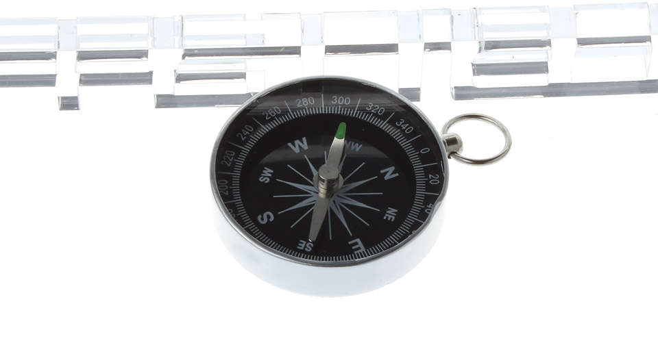 Aluminum + Glass Compass for Outdoor Activities