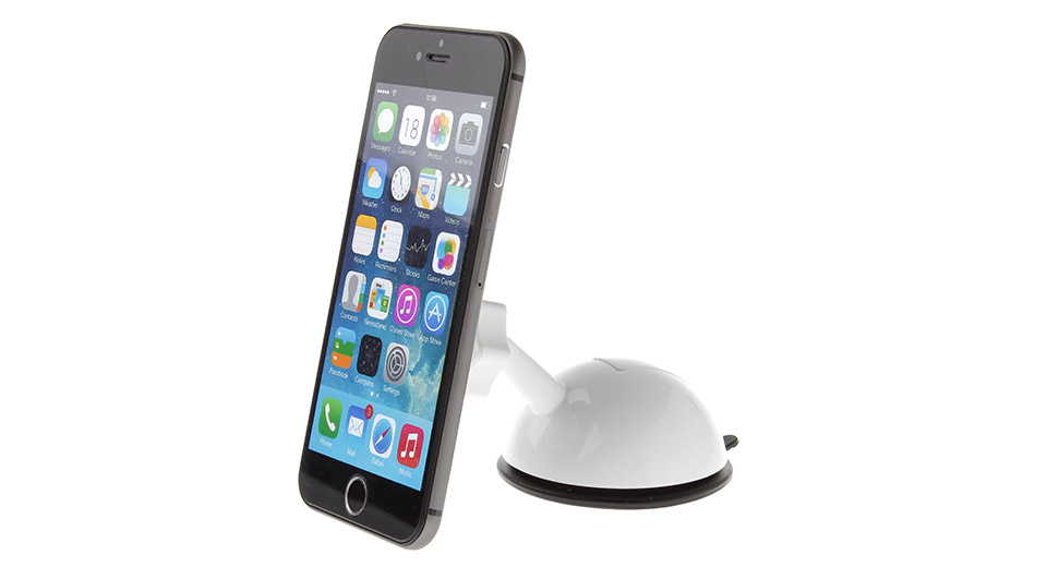 JHD-32HD76 Universal Magnetic Car Suction Cup Holder Stand for Cellphone