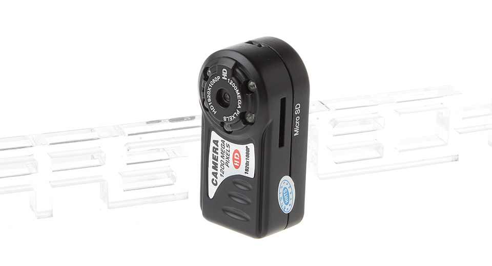Image of T8000 Mini Portable 12.0MP CMOS HD 1080P Camera Camcorder w/ 5-LED IR Night Vision