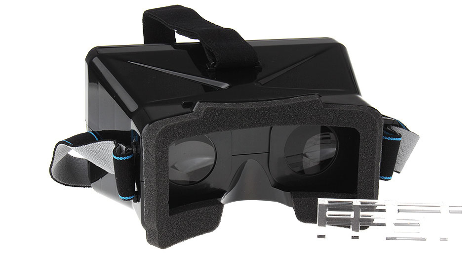 Terios Universal Headband Virtual Reality 3D & Video Glasses for 3.5~5.5 inch Smartphones