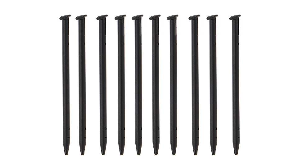 Plastic Stylus Touch Pens for New 3DS (10-Pack)
