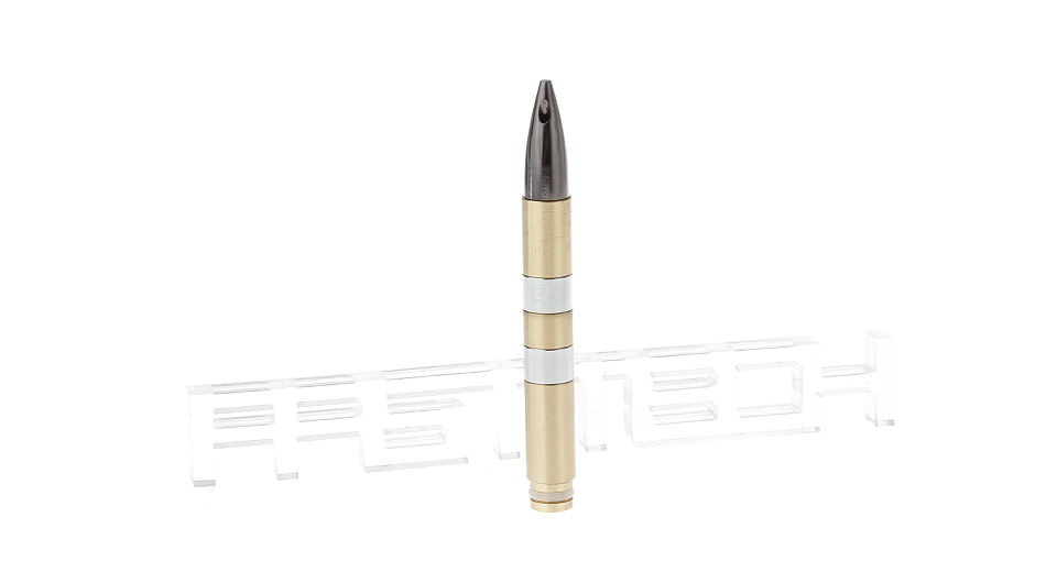 Image of AK47 Bullet Styled Brass 510 Detachable Drip Tip