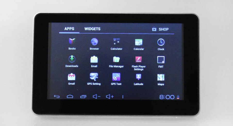915 MID 5 Single-Core 1.0GHz Android 4.2 Jellybean GPS Navigator