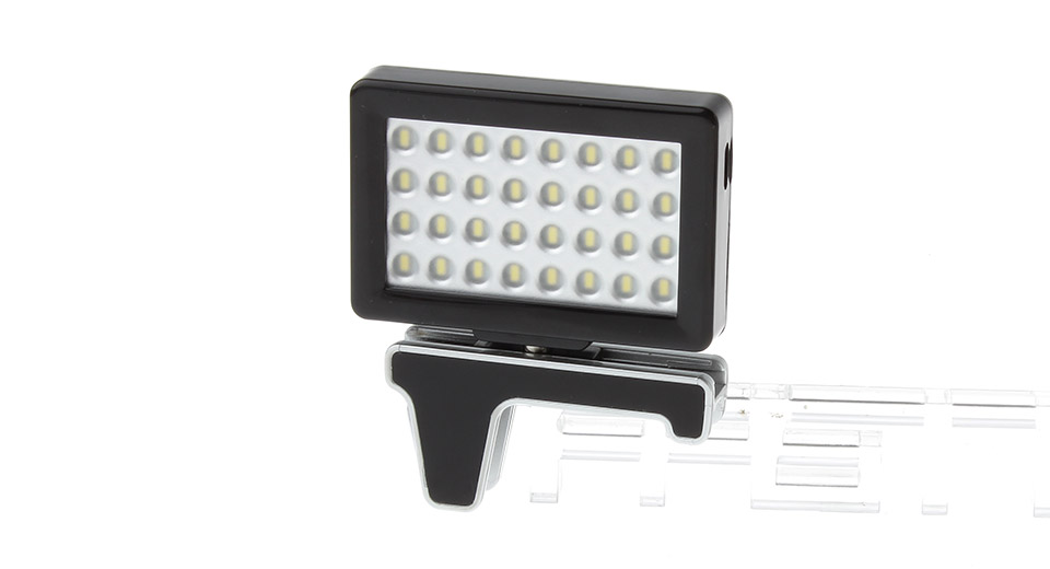 Image of 2W 32-LED 330LM 5200K Warm White Digital LED Video Shooting Light for iPhone 5s / 5c / 5