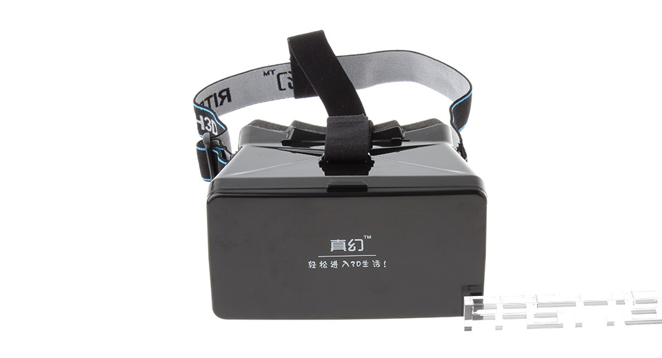 RITECH ABS Virtual Reality VR 3D Goggles Magic Box Private Theater for iPhone 6 Plus/6/5 and More
