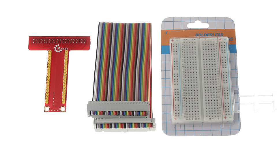 DIY GPIO Extension Expansion Board Accessory Kit for Raspberry Pi B+