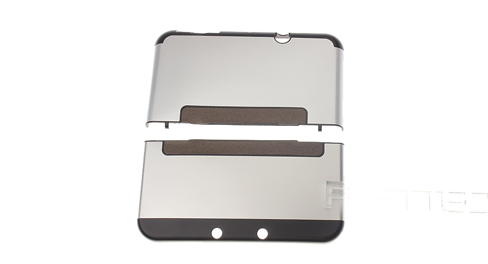 Protective Aluminum + Plastic Case for New 3DS LL