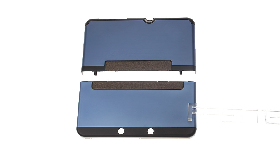 Protective Aluminum + Plastic Case for New 3DS