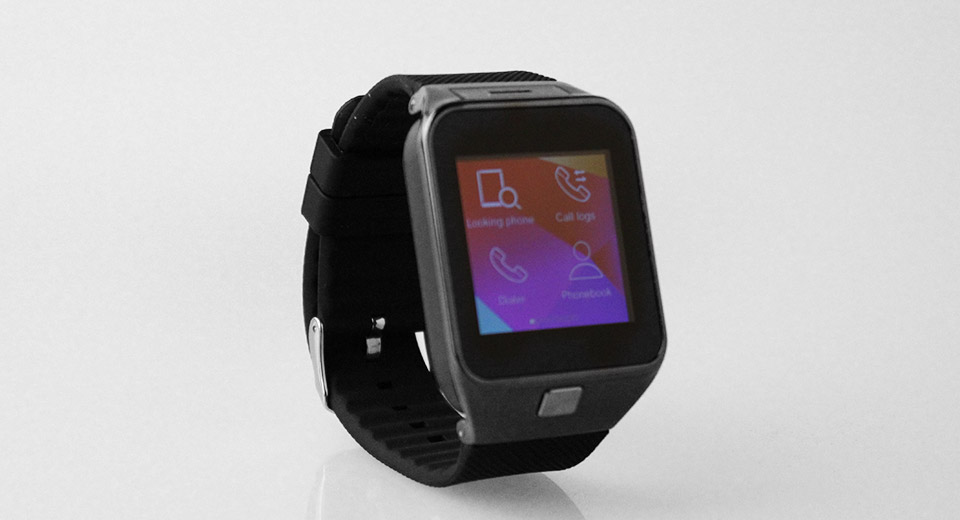 WT90 1.54'' Touch Screen Bluetooth V3.0 GSM Smart Watch Phone