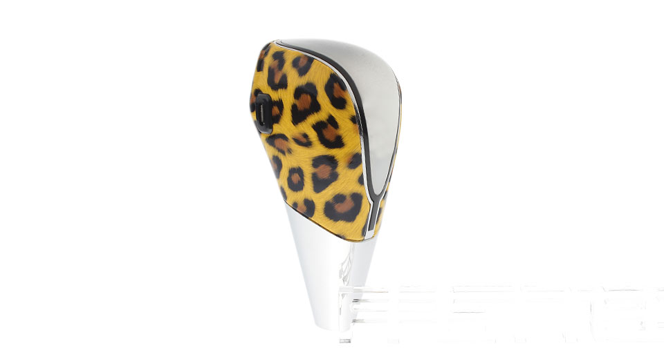 Universal Car PU Leather Touch-emitting 7-Color LED Shift Knob