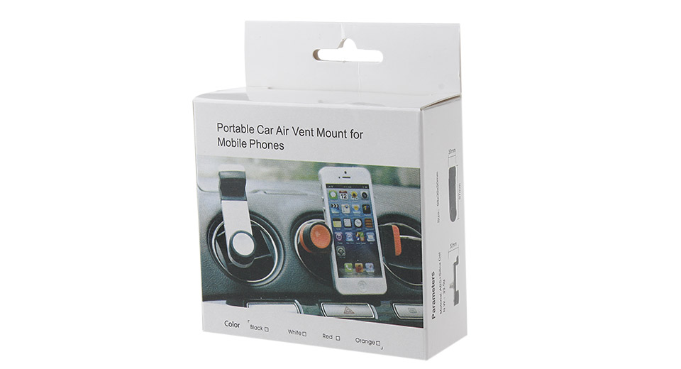 Universal Retractable Car Air Vent Mount Holder Mobile Phone