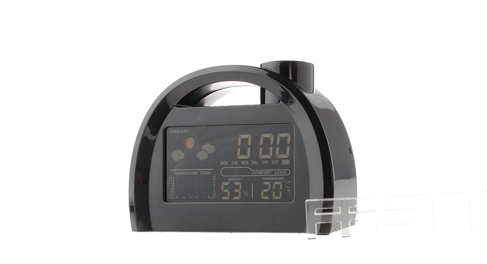 BR813 3.8-inch LCD Display Color Screen Weather Station Clock