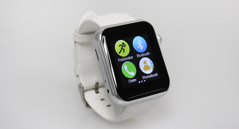 A8 1.5'' LCD Bluetooth V4.1 Smart Watch Phone