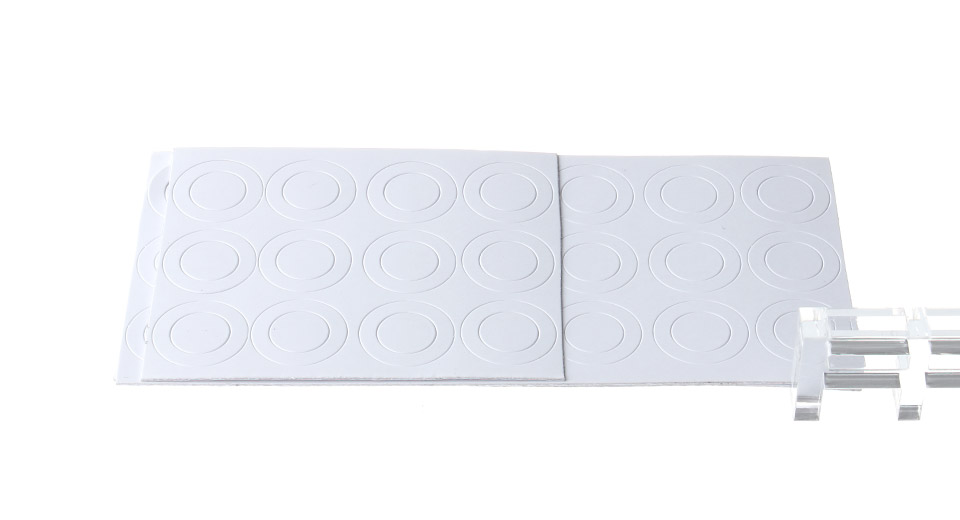Paper Insulation Gasket for Flat 18650 Battery (50-Pack)