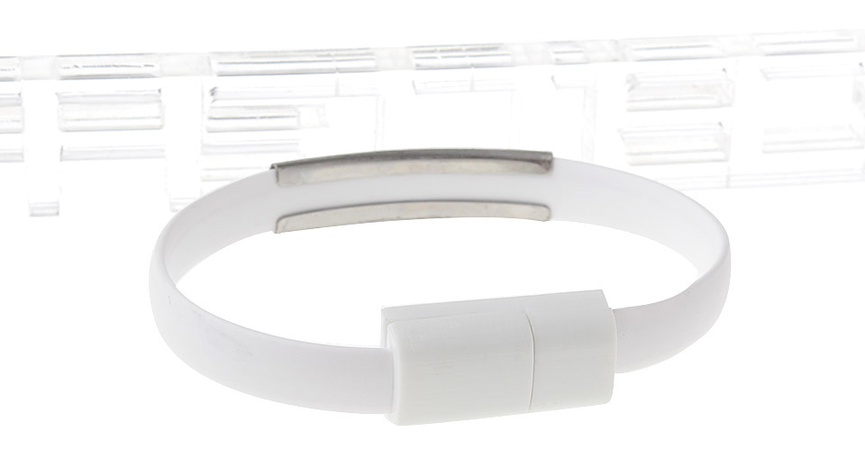 Bracelet Styled 8-pin to USB M/M Data Sync / Charging Cable