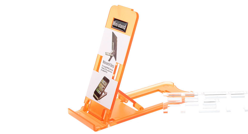 Portable Multi-Angle Adjustable Stand Holder for Cellphones / Tablet PCs