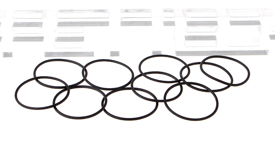 Rubber O-Ring Seals for E-Cigarettes (10-Pack)