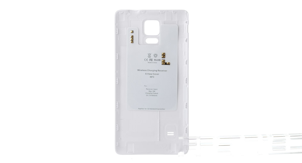 Qi Inductive Wireless Charging Receiver Back Case for Samsung Galaxy Note 4