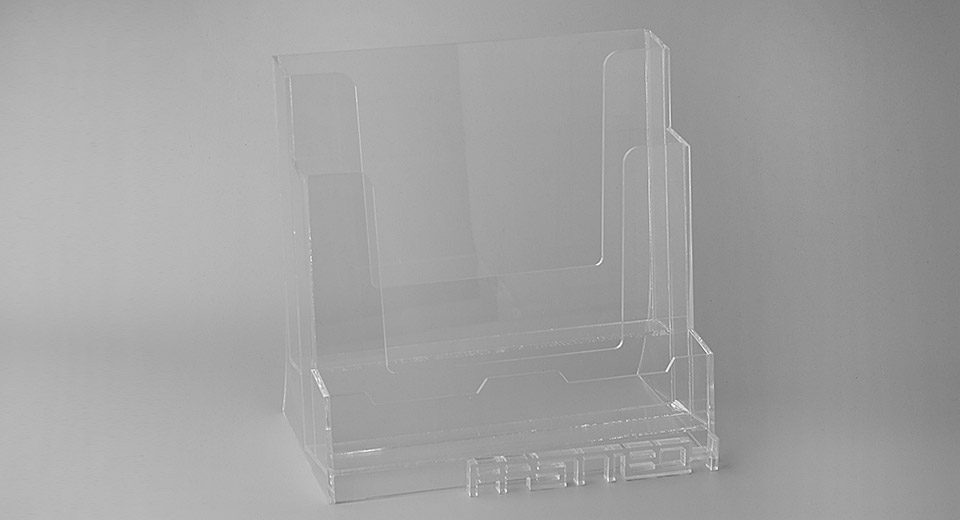 Acrylic Display Stand for Magazines / Files