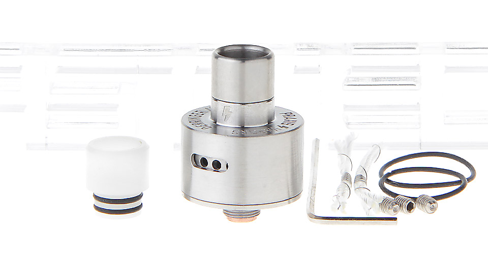 Derringer Styled RDA Rebuildable Dripping Atomizer
