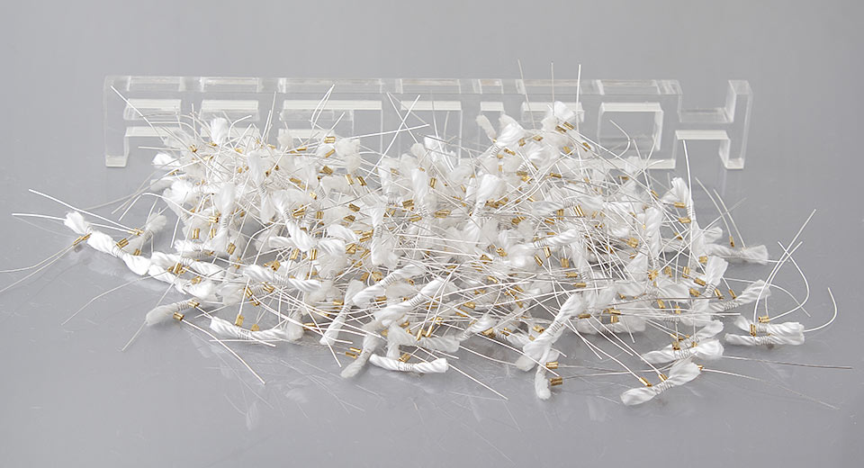 Image of Pre-made Wires and Wicks for Atomizer (200-Pack)