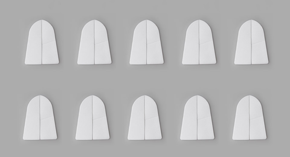 S-323 3M Stickers for U-Shaped Display Stand (10-Pack)