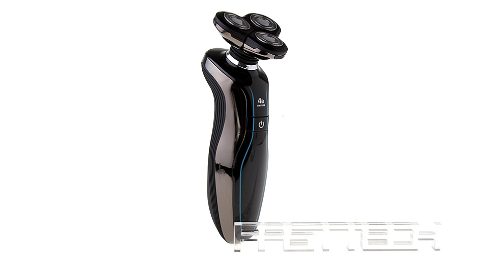 SHAVER RQ370 Rechargeable 3-Head Rotary 4D Shaver Razor