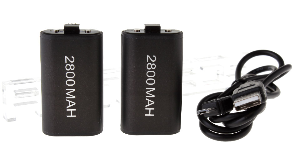 2800mAh Rechargeable Ni-MH Battery for Xbox One Wireless Controller