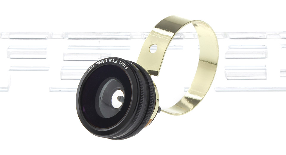 3-in-1 180' Fisheye + 0.67X Wide Angle + Macro Lens for Cellphones