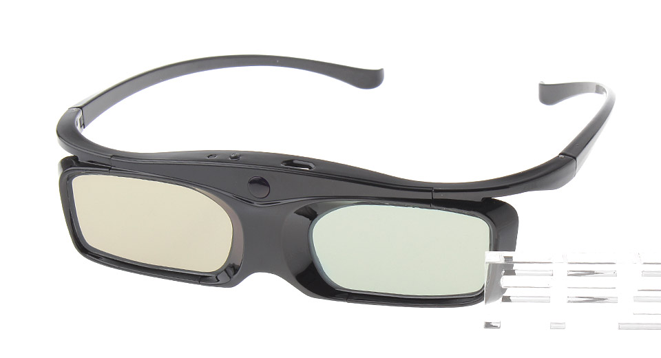 Micro-USB Rechargeable 3D Active Shutter Glasses