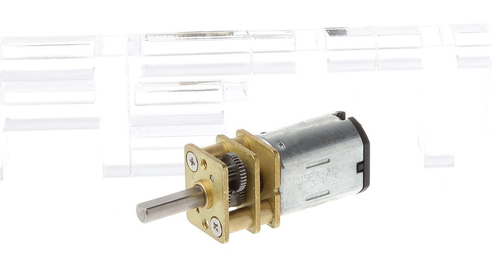 Image of 12GA DC 6V 100RPM Electric Reduction Metal Gear Motor