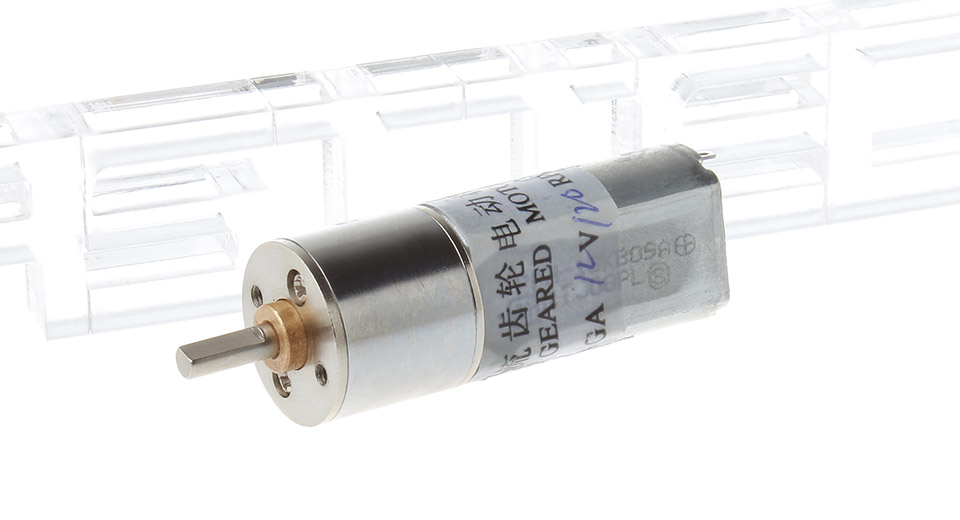 Image of 12GA DC 12V 120RPM Electric Reduction Metal Gear Motor