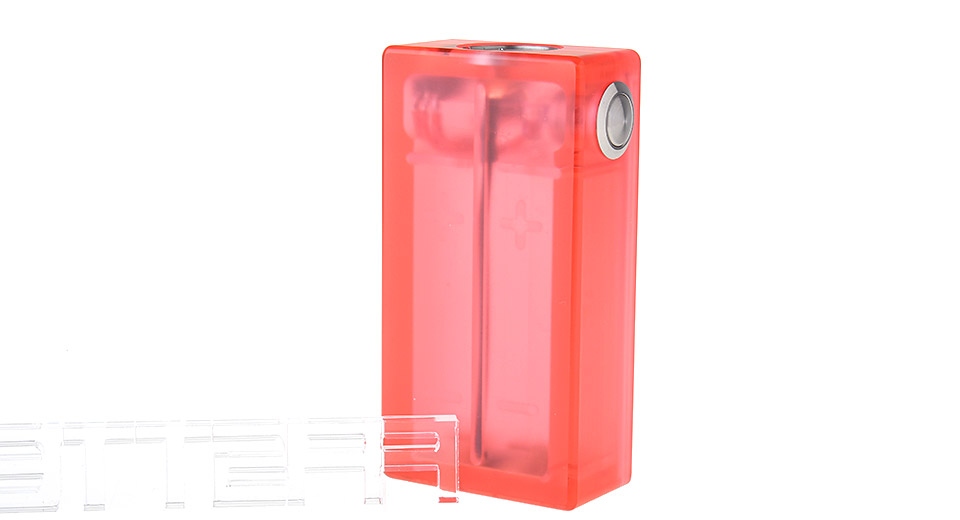 ABS 2*18650 Mechanical Box Mod, ABS, 2*18650, Red
